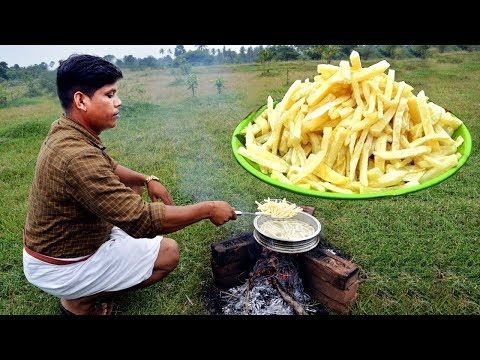 french fries recipe crispy french fries recipe homemade village food channel kerala cooking pachakam recipes vegetarian snacks lunch dinner breakfast juice hotels food   kerala cooking pachakam recipes vegetarian snacks lunch dinner breakfast juice hotels food