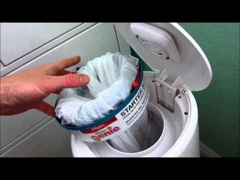 How to use a trash bag in a Diaper Genie... and save money