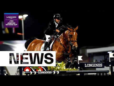UAE and Saudi Arabia qualify for the final in Barcelona! | Longines FEI Jumping Nations Cup™ 2019