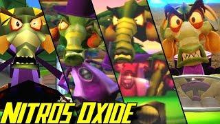 Evolution of Nitros Oxide in Crash Bandicoot Games (1999-2019)
