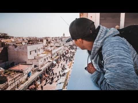 IT BEGINS | Essaouira Morocco | Road Trip Ep:1