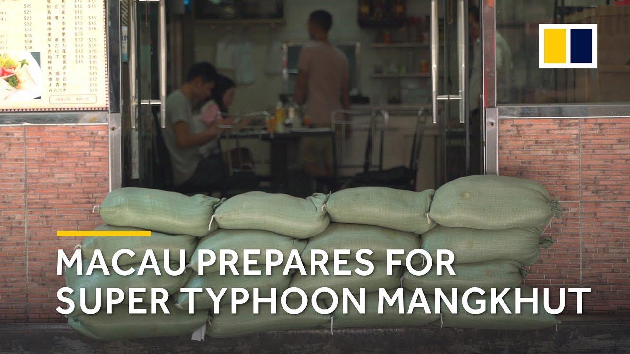 Macau prepares for Super Typhoon Mangkhut