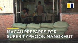 Macau prepares for Super Typhoon Mangkhut thumbnail