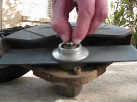 How to replace a blade on a echo edger youtube how to replace a blade on a echo edger greentooth Choice Image