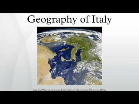Geography of Italy