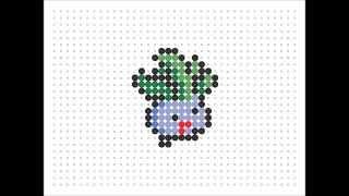 Hama Bead Oddish (Pokemon Series 2 #5)