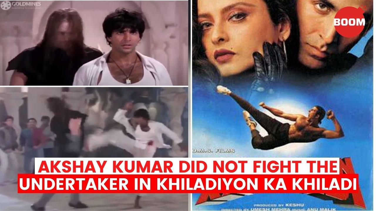 Akshay Kumar Did Not Fight The Undertaker In Khiladiyon Ka Khiladi   BOOM   Bollywood