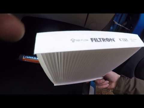 Как поставить салонный фильтр на рено логан 2 видео