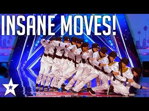 Just Jerk: INSANE Dance Act Performance | America's Got Talent 2017