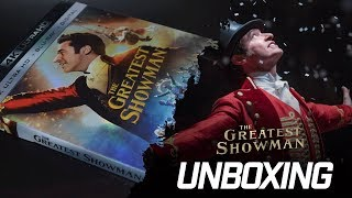 The Greatest Showman: Unboxing (4k/blu Ray)