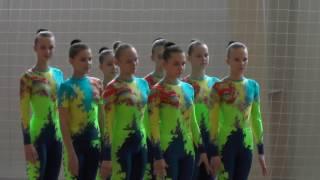 Танцевальная гимнастика (12-14) - спортивная аэробика г. Ульяновск