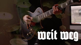 Rammstein - Weit Weg (Live) Guitar cover by Robert Uludag/Commander Fordo FEAT. Dean & Rammband