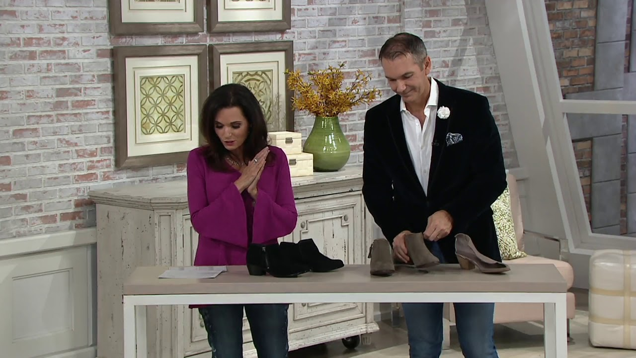 Vionic Suede Ankle Boots - Serena on QVC
