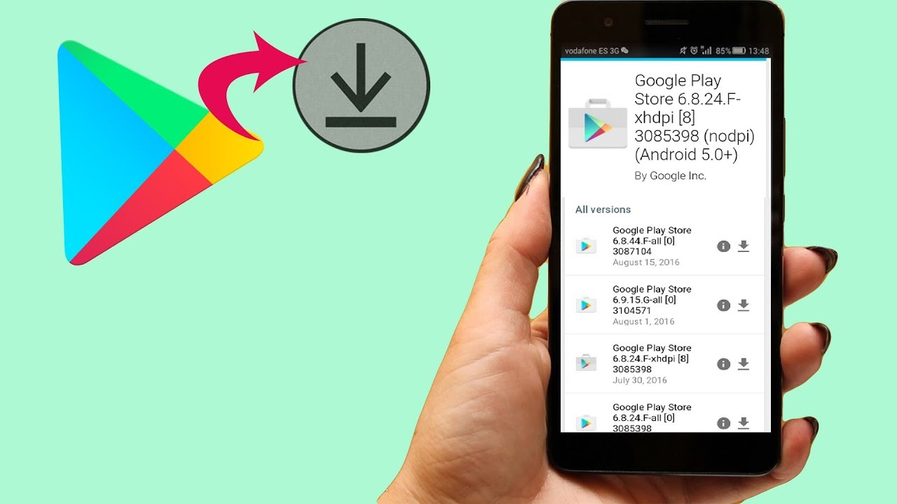download google play store apk for android 5.1.1
