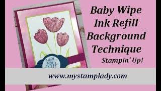Baby Wipe Ink Refill Backgroun…