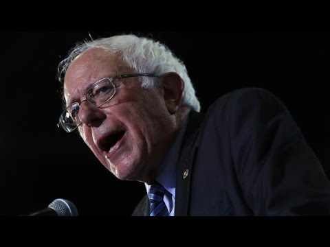 Bernie Sanders reacts to leaked Clinton audio