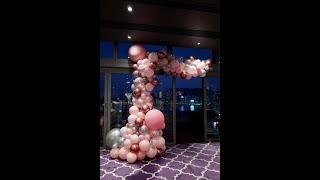 Wedding balloon arch 婚禮氣球拱門