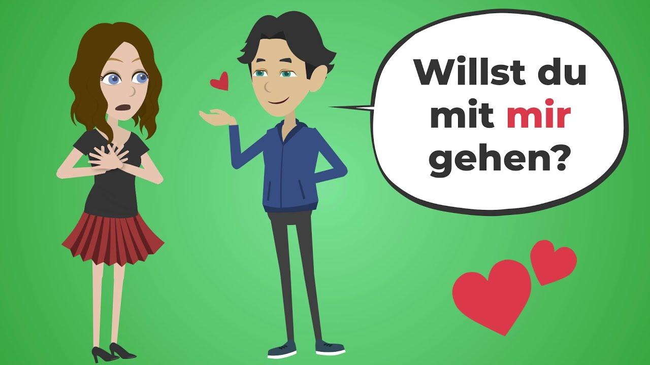 Download Deutsch lernen   Wortschatz: Beziehung   Grammatik: Akkusativ und Dativ   wichtige Verben