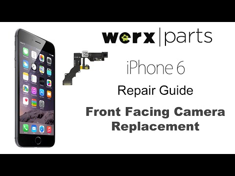 iPhone 6 Front Facing Camera Replacement