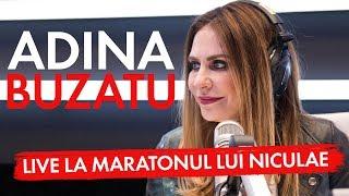 Designerul Adina Buzatu a fost LIVE la Maratonul lui Niculae, ediția a IV-a!