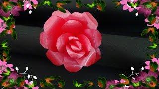 Rosa de Fita Decorativa