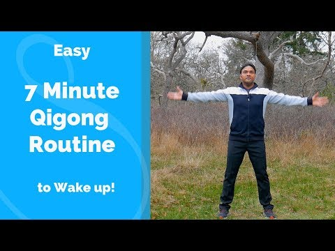 7 Minute Qigong Routine - Easy Beginner Practice to Invigorate the Qi