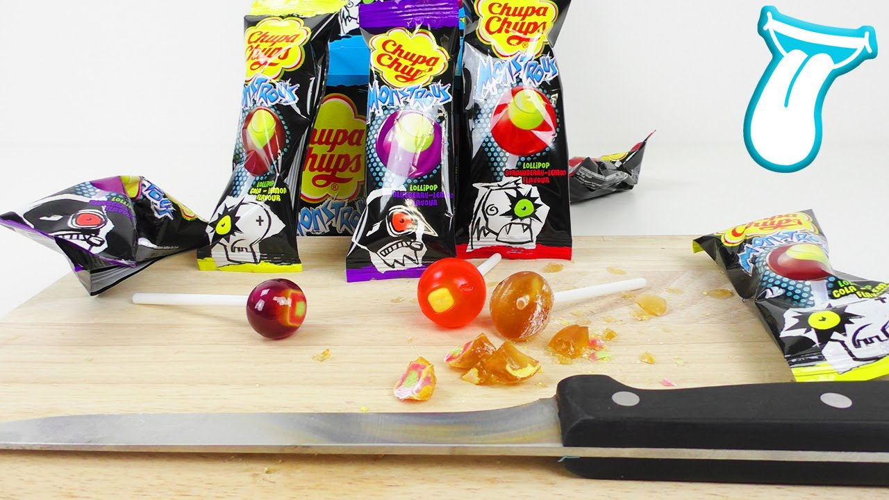 AUGEN IM LUTSCHER! Chupa Chups Monstrous Lollipops verändern ihre ...