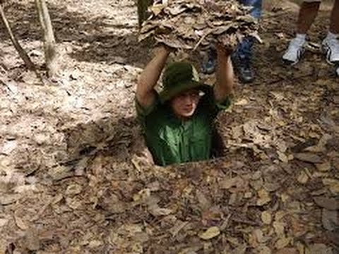 cu chi tunnels, cu chi tunnels tour, vietnam war, vietnam tourist attractions
