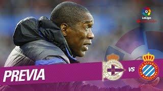 Previa RC Deportivo vs RCD Espanyol