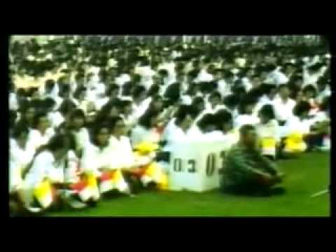 Pope John Paul II Visited Indonesia 1989