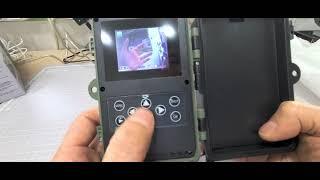 헌터아이 적외선카메라 녹화/영상보기/영상삭제하는법