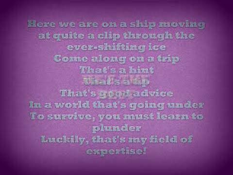 Ice Age Continental Drift: Master of the Seas Lyrics