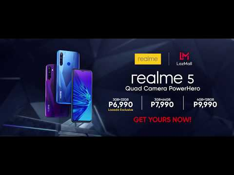 realme 5 Now Available in Lazada from YouTube · Duration:  16 seconds