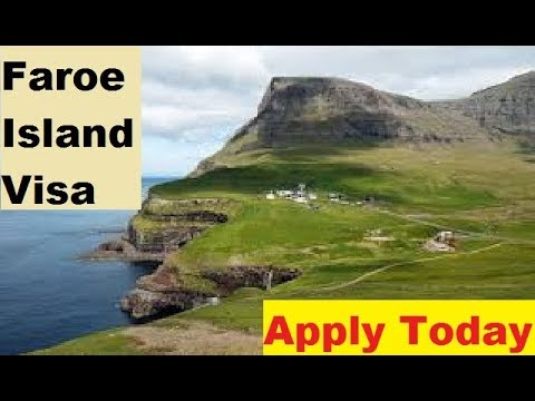 Faroe Island || How To Apply For  visa online