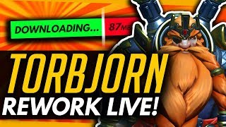Overwatch | Doomfist NERFED? + Torbjorn Rework (New Patch in 4 Minutes!)