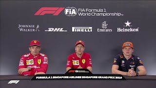 F1 2019 R15 Singapore - Post-race Press Conference