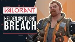 BREACH im Spotlight & erstes Gameplay - VALORANT - Fähigkeiten | deutsch