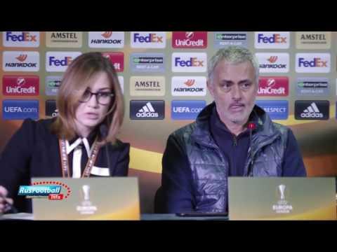 Жозе Моуриньо: во время матча сказал Калачеву заткнуться. Jose Mourinho after guest game with Rostov