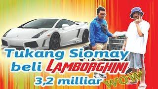 Tukang Siomay Nyamar Jadi Orang Kaya, Beli Lamborghini 3,2 Milyar!!!