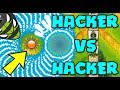 HACKER VS HACKER :: THIS DEFENSE IS UNSTOPPABLE! 5TH TIER TACK & GLUE! - Bloons TD Battles