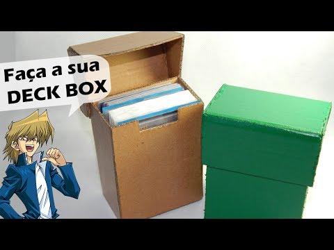 Tutorial: Fazendo uma Deck Box Top!