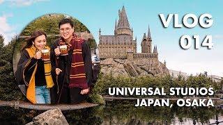 VLOG 014: SEHARIAN DI UNIVERSAL STUDIOS JAPAN (Harry Potter, Minions, Jurassic Park, etc)