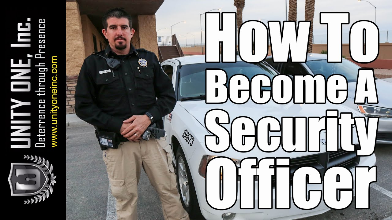 How to become a security officer security patrol services in las vegas youtube - How to become security officer ...