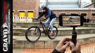 MTB Videos & Vlogs mit dem Smartphone filmen | FeiyuTech SPG2 Gimbal Test | Leo Kast #159
