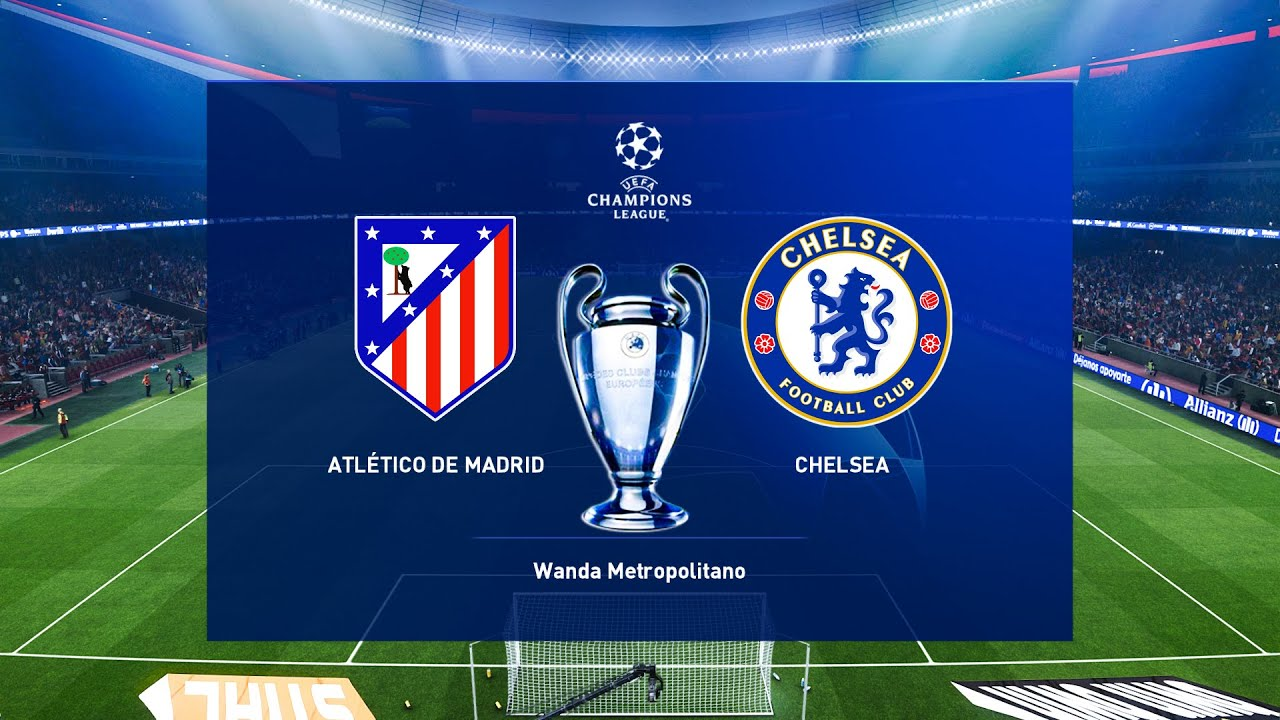 Atletico Madrid vs Chelsea | Round of 16 | UEFA Champions League 2020/21  Gameplay - YouTube