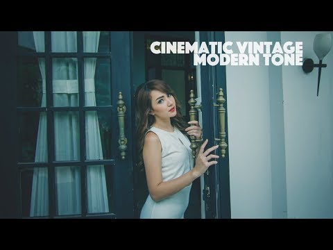 Cinematic Green Photoshop Tutorial Color Grading thumbnail