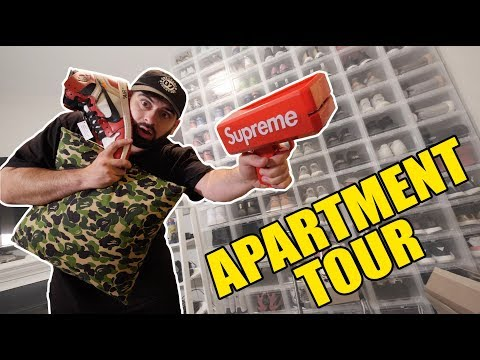 HYPEBEAST APARTMENT ROOM TOUR! (MUST WATCH)