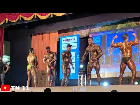 Mr.chennai 2019   Bodybuilding Competition  