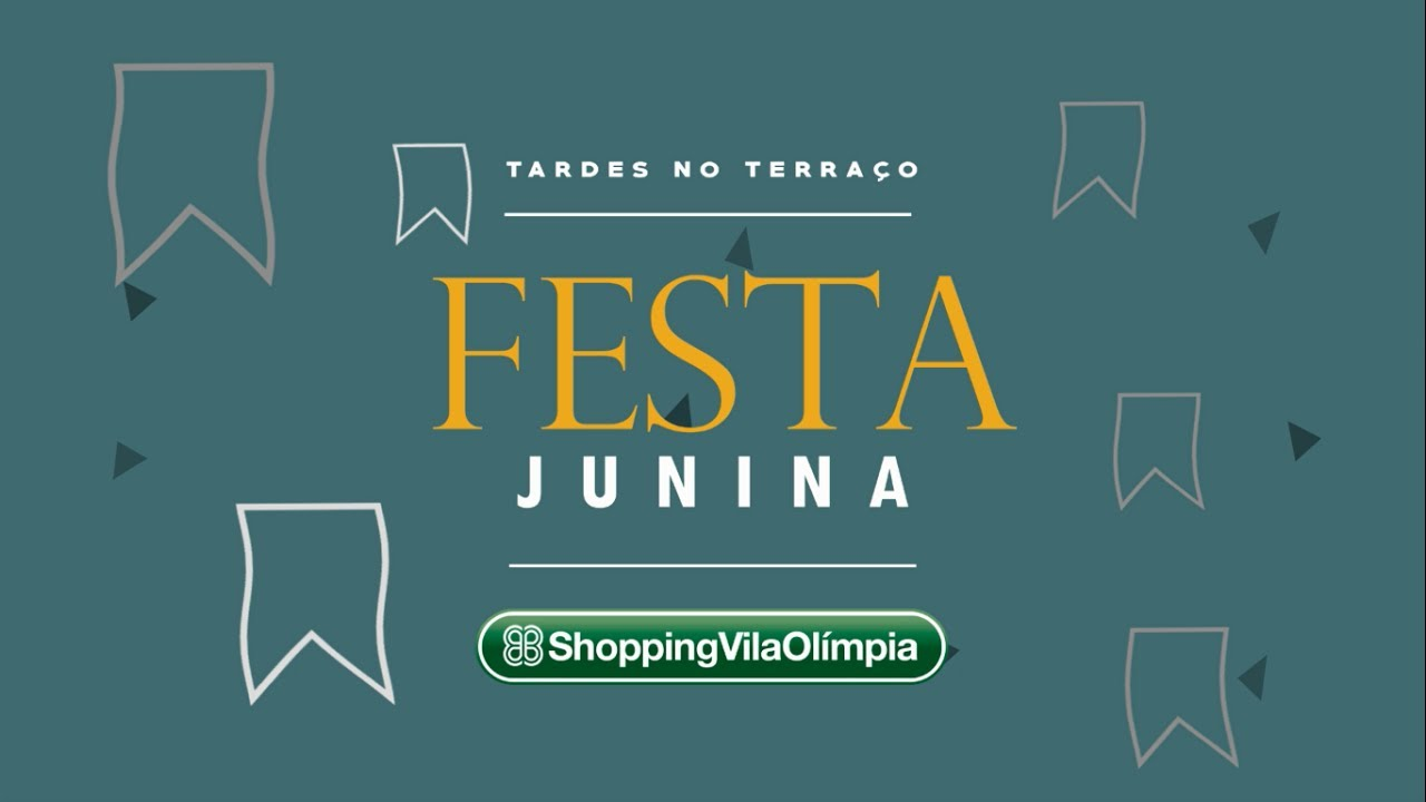 b35b9e154c Tardes no Terraço Shopping Vila Olímpia - Festa Junina 2017 - YouTube