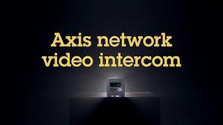 AXIS I8016-LVE vidéo